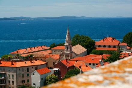 Zadar - kilátás a toronyból